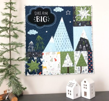 Snow-capped Mountain Quilt Block Tutorial by Amy Smart